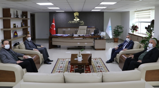 Belediye Başkanı Akyol'dan MASKİ'ye Ziyaret