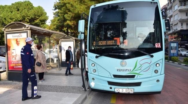 Tam Kapanmada Büyükşehir'den Akhisar'a Tek Sefer