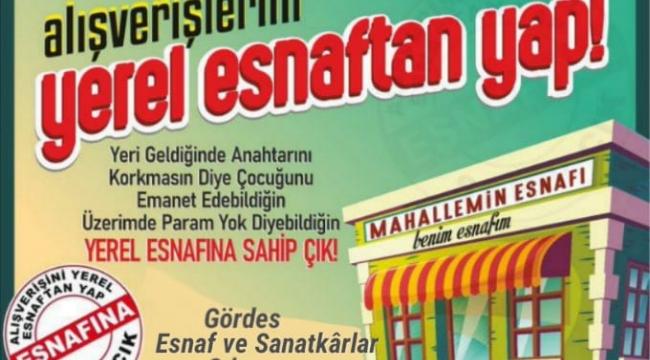 Yerel Esnafa Destek Kampanyası