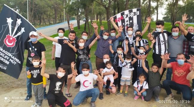Gördes'te Beşiktaşlıların Şampiyonluk Coşkusu