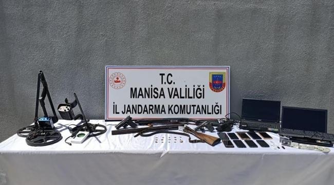 Manisa'da Jandarmadan Tarihi Eser Operasyonu