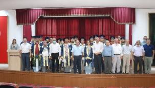 Ustalar Mesleki ve Teknik Anadolu Lisesi Diploması Aldı