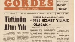 Gördes Gazetesi 37. Yılına Girdi