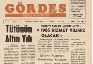 Gördes Gazetesi 35.Yılında