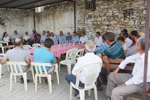 Kıymık Mahallesinde Halk Toplantısı