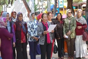 Gördes'ten Diyarbakırlı Annelere Destek