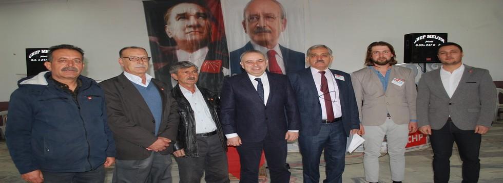 CHP'de Başkan Nihat Ergin
