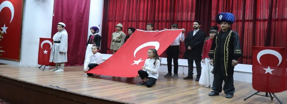 İstiklal Marşının 99.Yılı Kutlandı