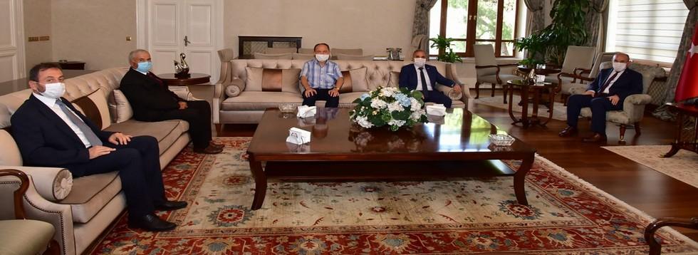 Başkan Akyol'dan Vali Karadeniz'e Ziyaret