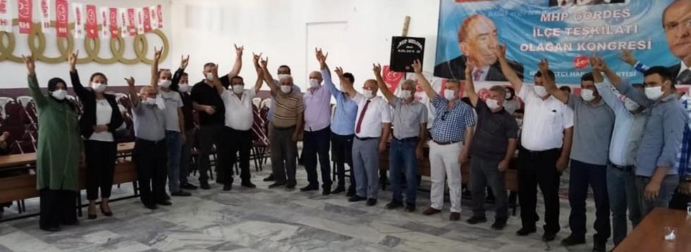 MHP'de Yonat Yeniden Seçildi