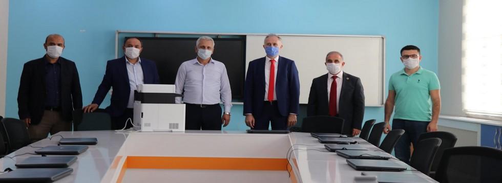İl Milli Eğitim Müdürü Mustafa Dikici Okulları Ziyaret Etti