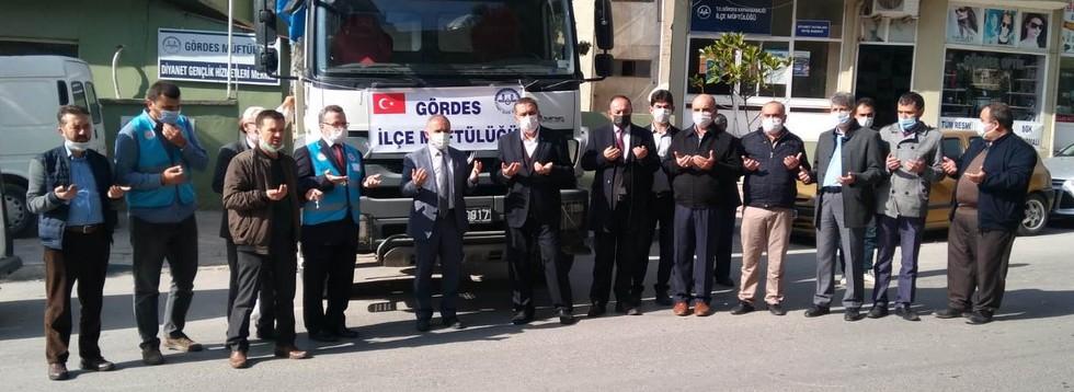 İlçe Müftülüğünden İzmir'e Yardım Eli