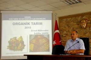 Organik Tarım Masaya Yatırıldı