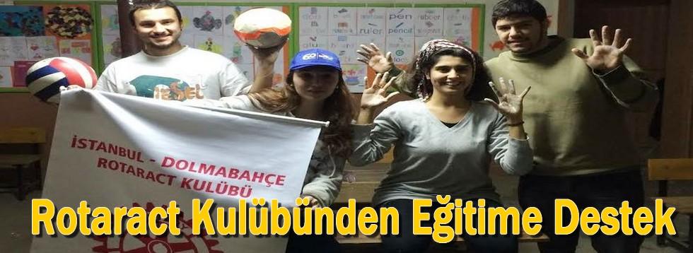 Rotaract Kulübünden Eğitime Destek