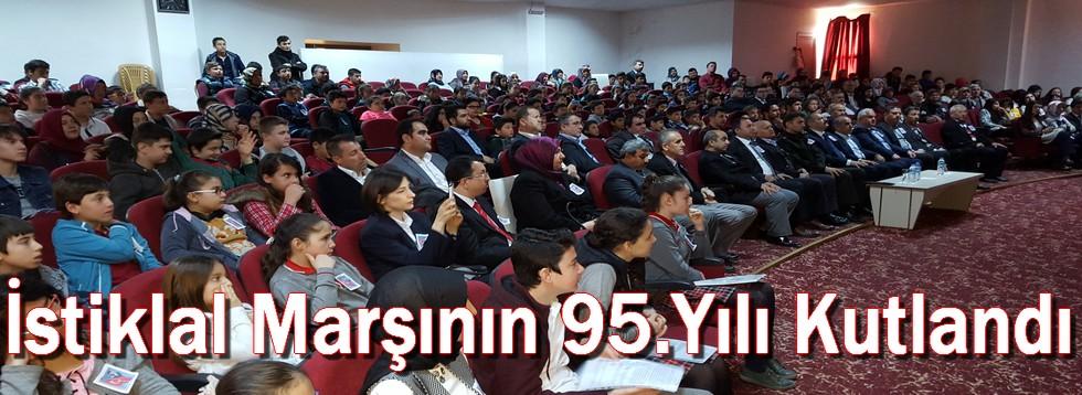İstiklal Marşının 95.Yılı Kutlandı