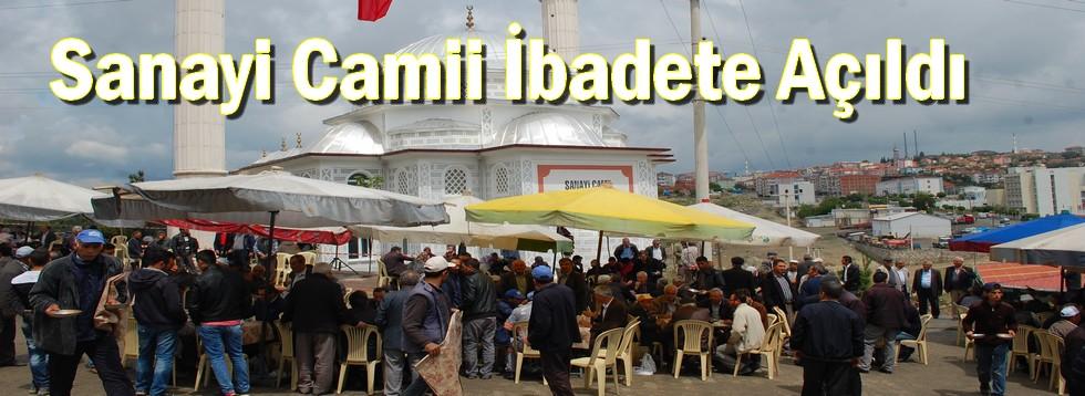 Sanayi Camii İbadete Açıldı