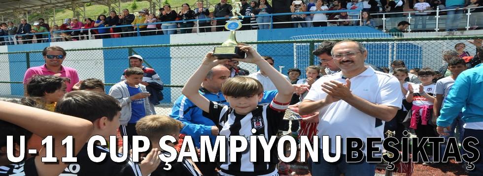 U-11 Cup'ta Şampiyon Beşiktaş