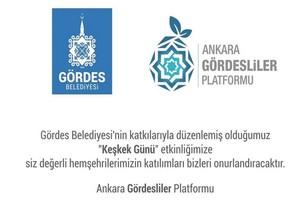 Ankaradaki Gördesliler Buluşuyor