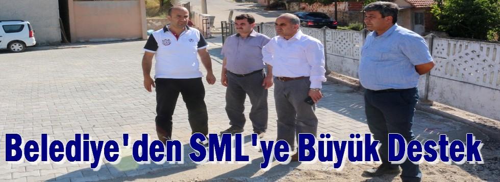 Belediye'den SML'ye Büyük Destek