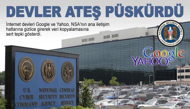Google ve Yahoo'dan sert tepki